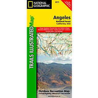 Angeles National Forest Trail Map