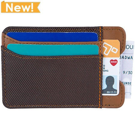 Safe ID Accent Money Clip Wallet