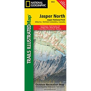 Jasper N Trail Map NG