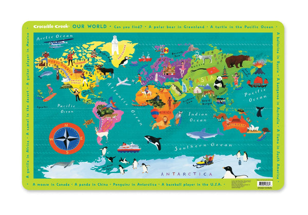 Kids Placemat - Our World