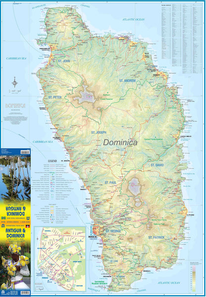 Antigua & Dominica ITMB Map