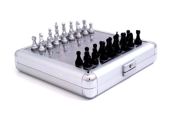 Chess and Backgammon Set Pearl