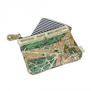 Paris Coin Purse with Mirror