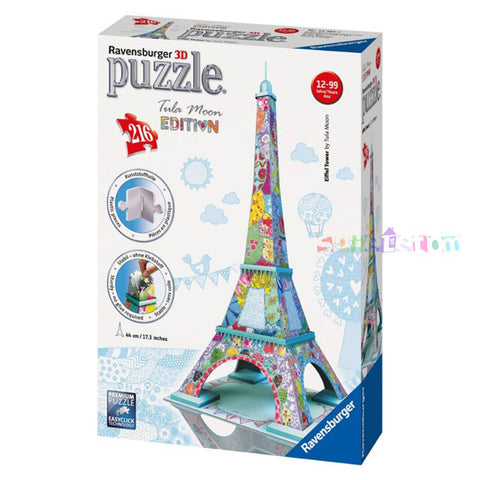 Eiffel Tower TULA Puzzle