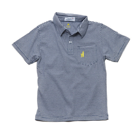 Boys' Stripe Polo by Johnny-O