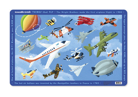 Kids Placemat - AIRPLANES
