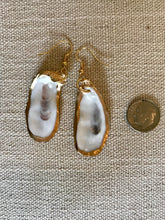Load image into Gallery viewer, Oyster Shell Earrings