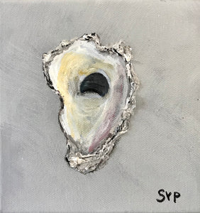 Oyster Painting 6x6