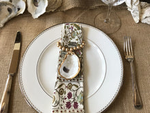 Load image into Gallery viewer, Oyster Shell Napkin Ring