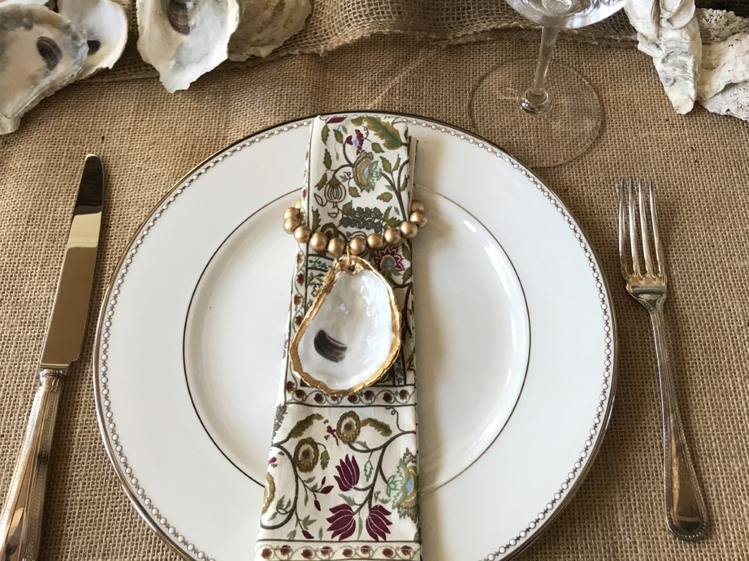 Oyster Shell Napkin Ring
