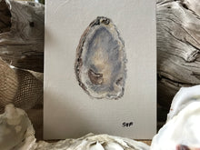 Load image into Gallery viewer, Oyster Shell Painting