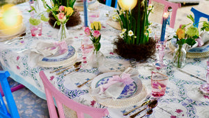 Lily Blossom Tablescape