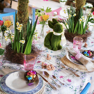 Easter Tablescape Dress For Dinner