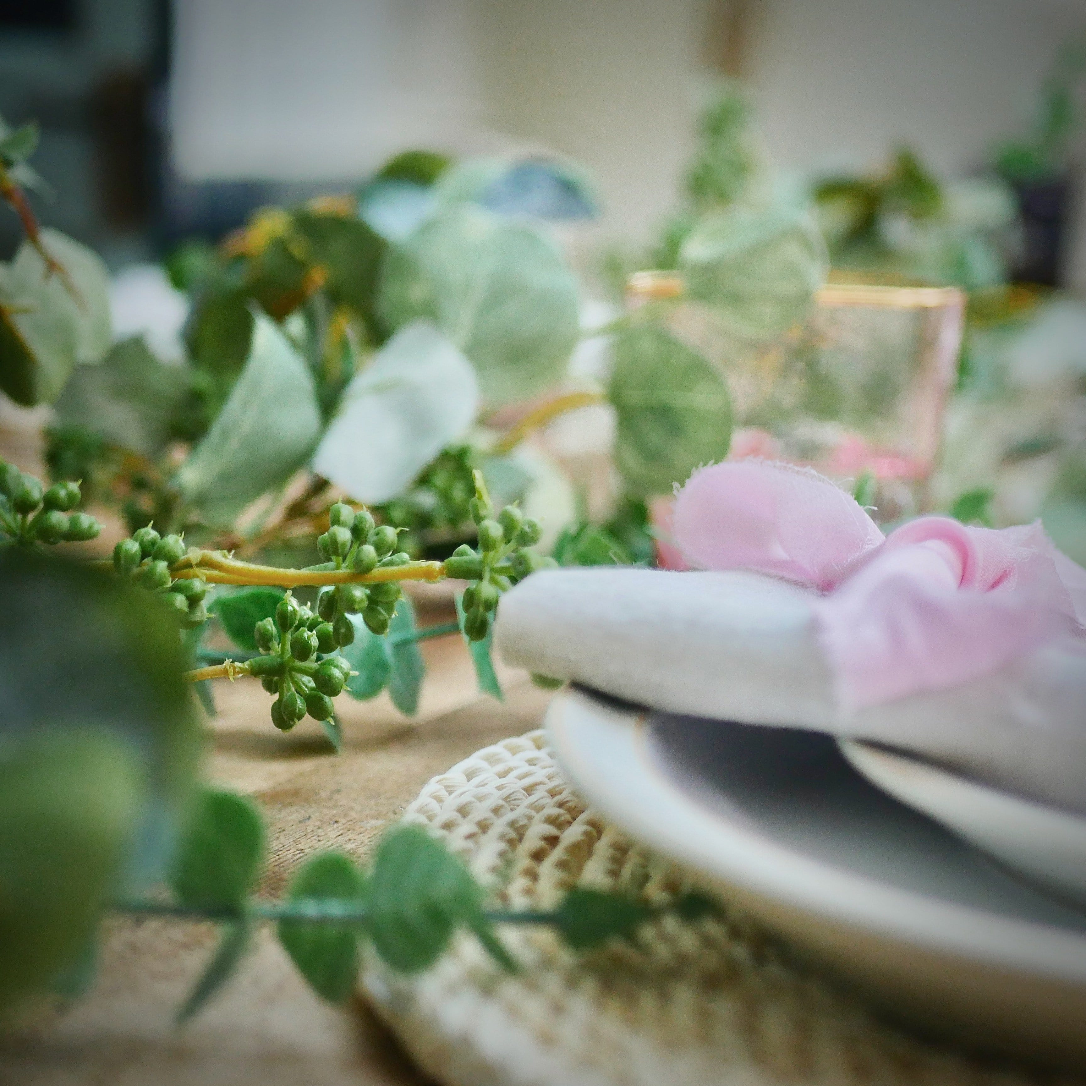 Eucalyptus garland, Dress For Dinner