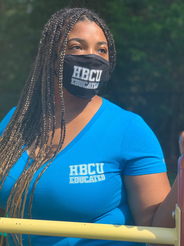 HBCU Educated Vneck - Motivat3Me