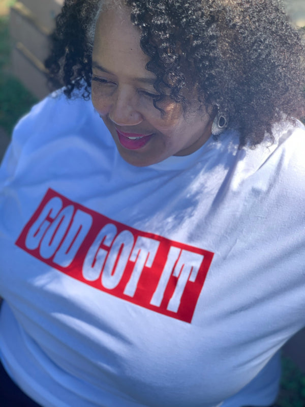 God Got It Unisex Tshirt - Motivat3Me