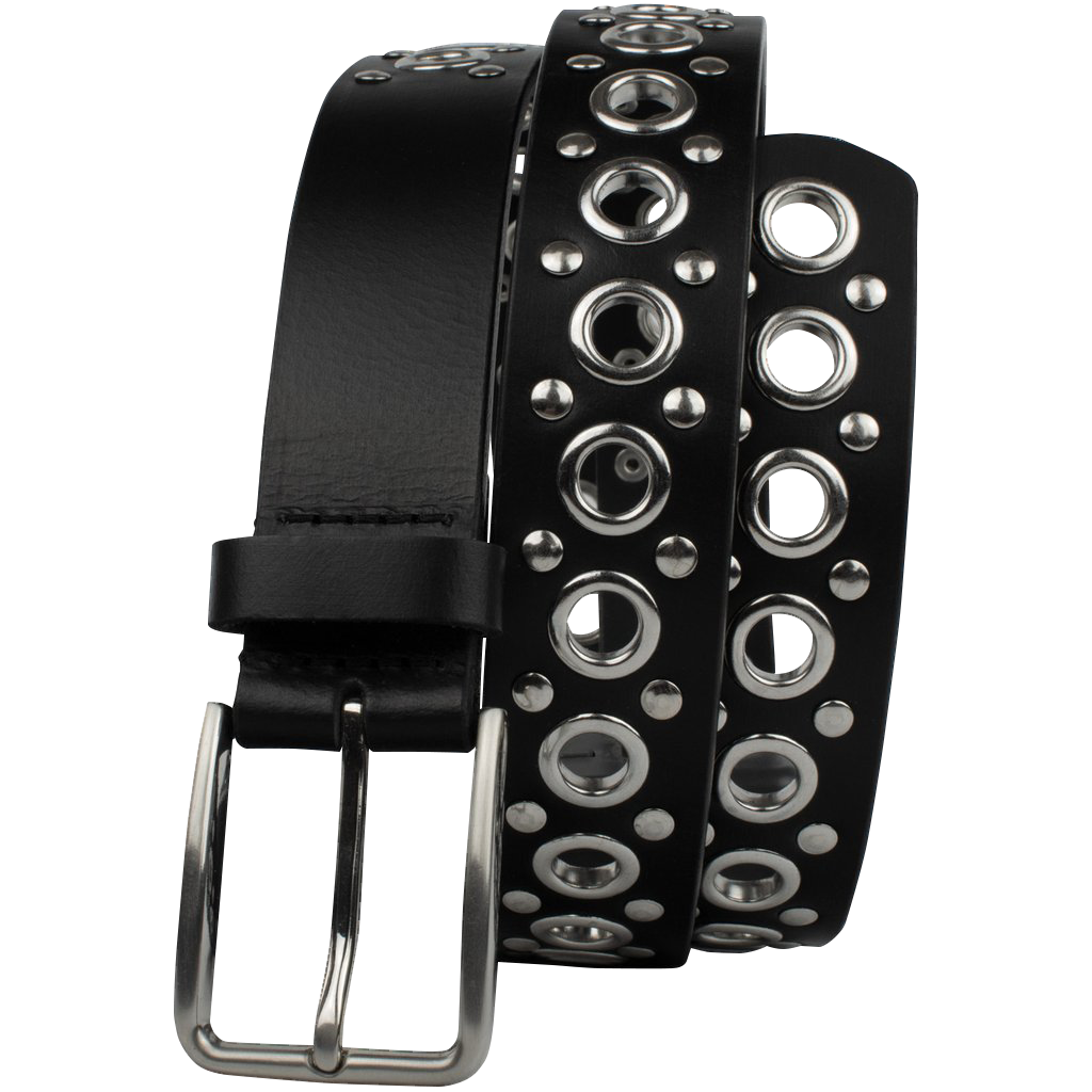 Black Studded Belt V.3 by Nickel Smart®
