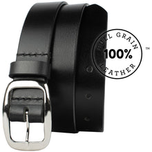 Mariposa Black Belt by Nickel Zero - nickelfreebelts.com, made in the USA