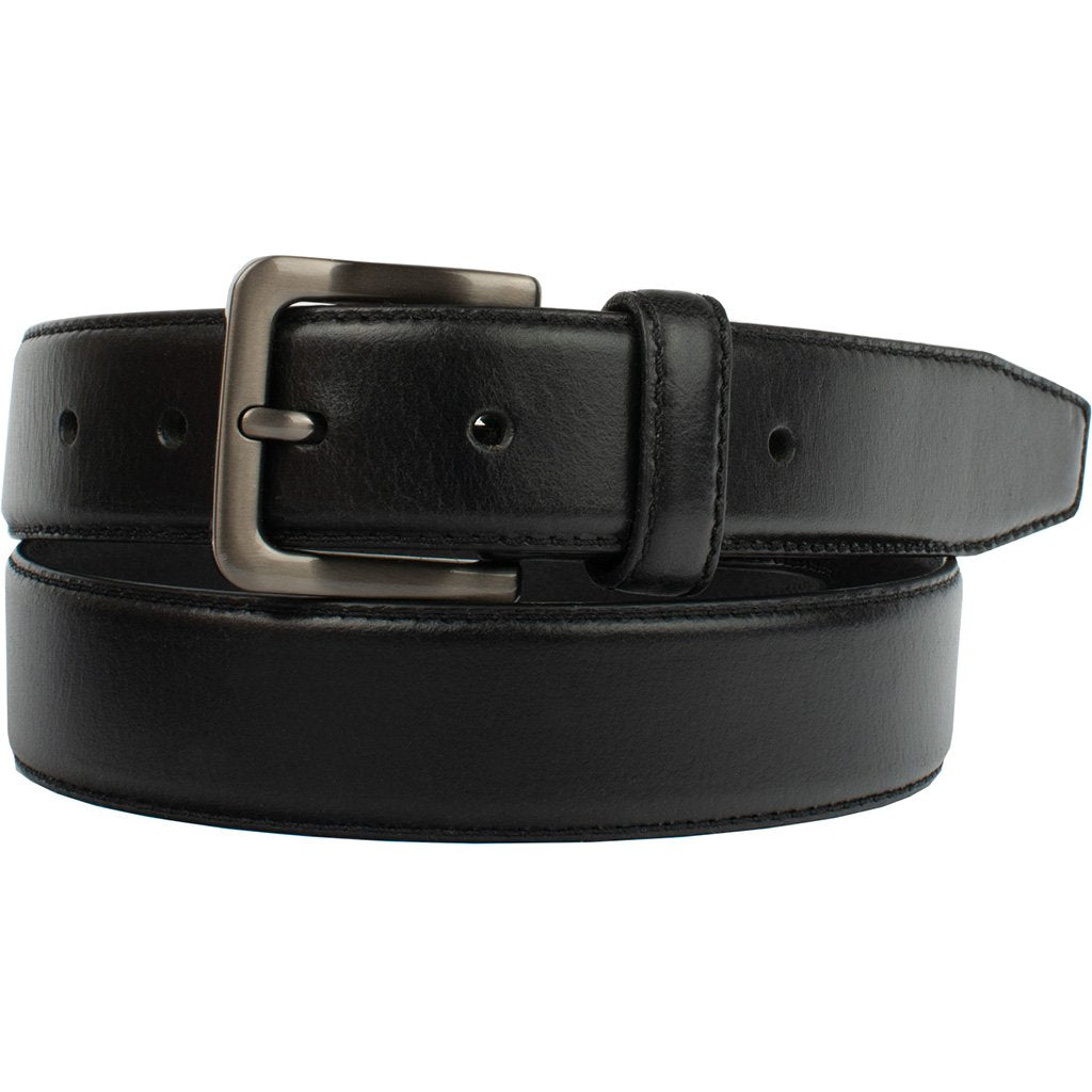 Metro Black Belt by Nickel Zero - nickelfreebelts.com, made in the USA