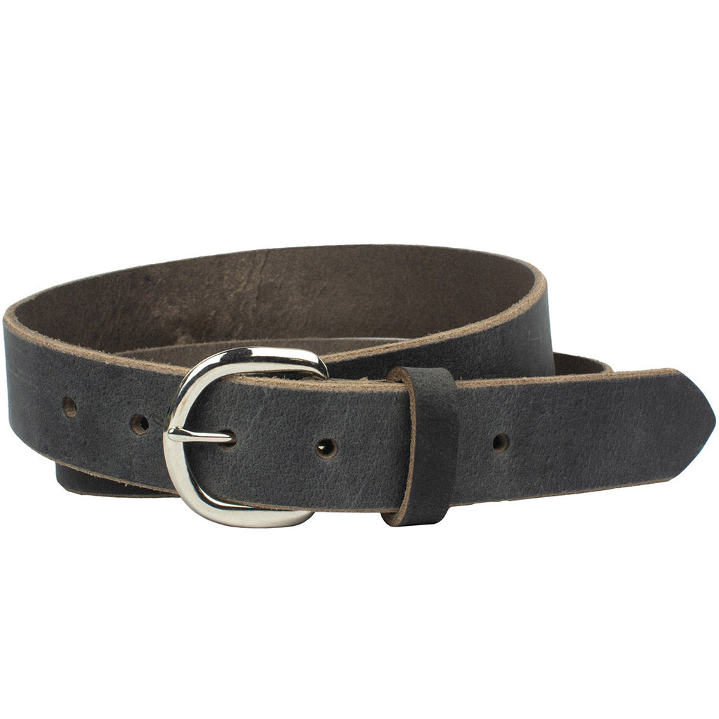 Yosemite Distressed Gray Belt by Nickel Zero - nickelfreebelts.com, nickel free, hypoallergenic