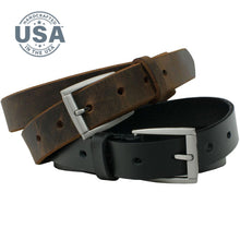 Child's Class 'n' Casual Belt Set by Nickel Smart, Nickel Free Guaranteed, made in USA