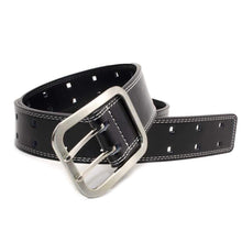 Double Pin Square Belt by Nickel Smart - nickelfreebelts.com, dress belt