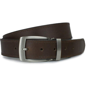 Elk Knob Brown Belt by Nickel Smart - nickelfreebelts.com, dress belt, casual belt
