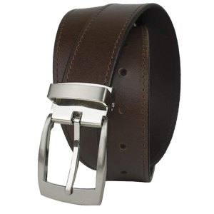 Elk Knob Brown Belt by Nickel Smart - nickelfreebelts.com, Brown belt