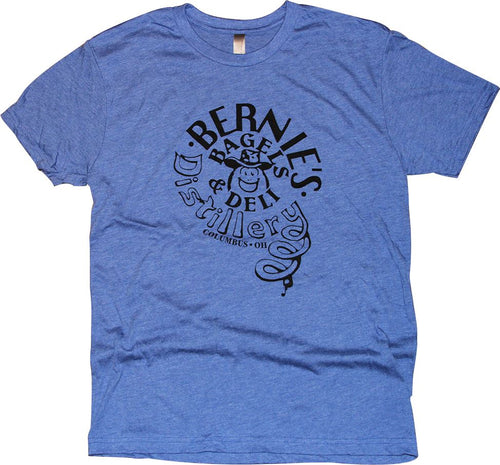 Bernie's Bagels Tri-Blend T-Shirt Apparel Blue S