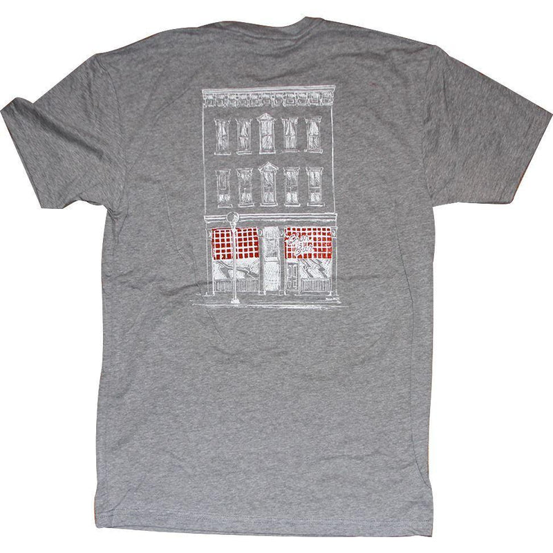 Char Bar T-Shirt Apparel Gray S
