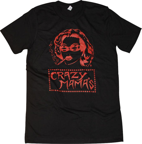 Crazy Mama's Tri-Blend T-Shirt Apparel Vintage Black S