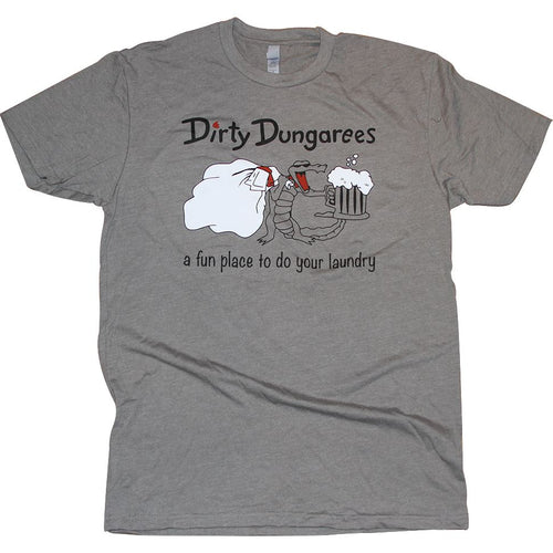 Dirty Dungarees T-Shirt Apparel Medium Gray S