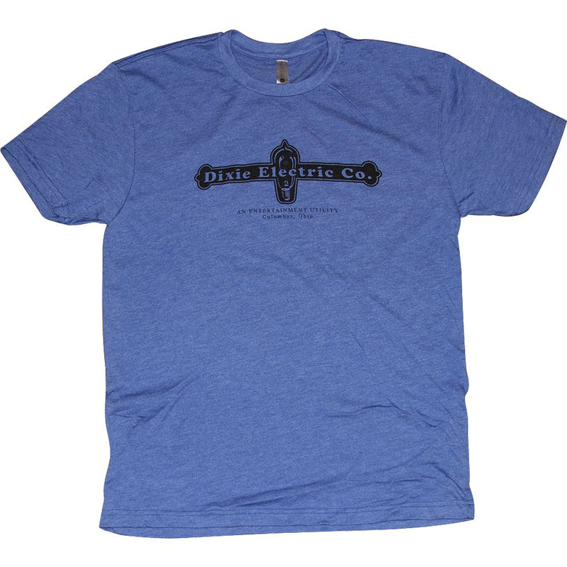 Dixie Electric Company Tri-Blend T-Shirt Apparel Blue S