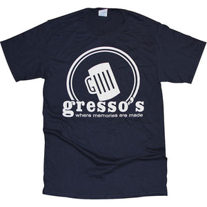Gresso's T-Shirt Apparel Navy S