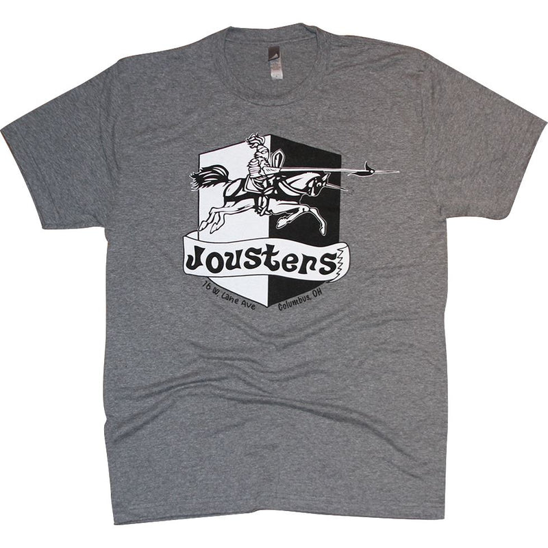Jousters Tri-Blend T-Shirt Apparel Medium Gray S