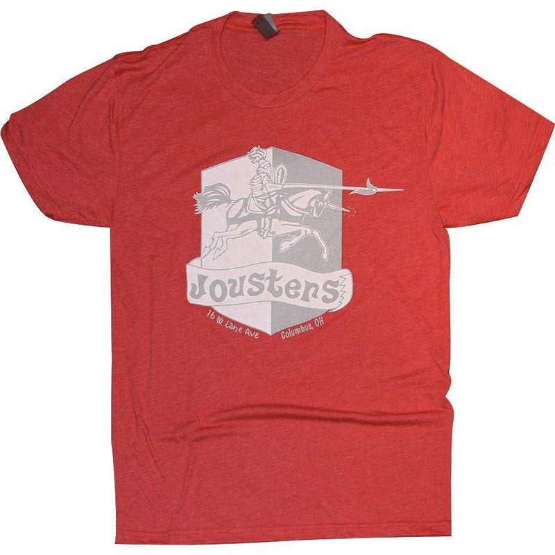 Jousters Tri-Blend T-Shirt Apparel Red S
