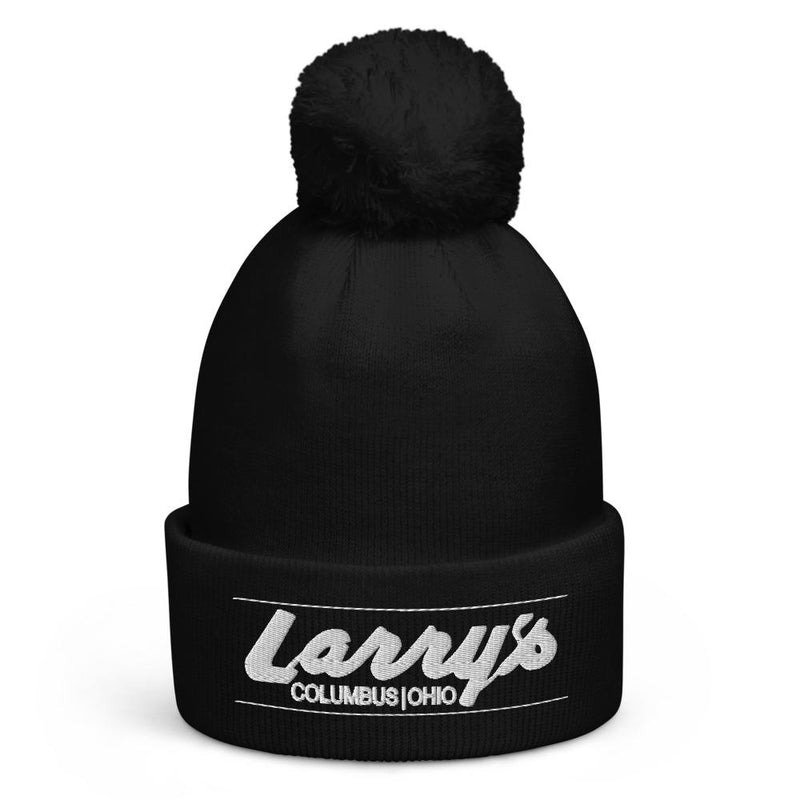 Larry's Bar Pom Pom Beanie