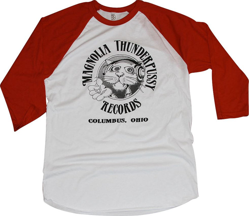 Magnolia Thunderpussy 3/4 Sleeve T-Shirt Apparel Red S