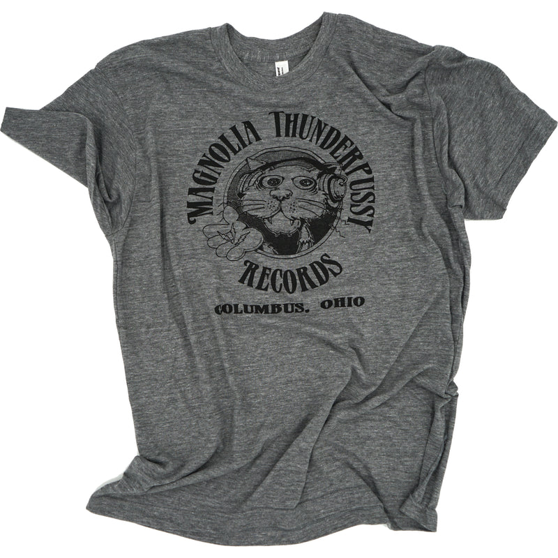 Magnolia Thunderpussy Tri-Blend T-Shirt Apparel Heather Gray S