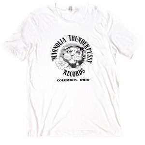Magnolia Thunderpussy Tri-Blend T-Shirt (White) Apparel White S