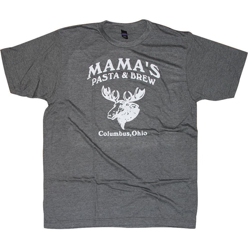 Mama's Pasta & Brew Moose T-Shirt Apparel Dark Gray S
