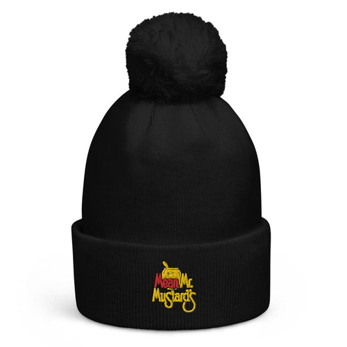 Mean Mr. Mustard's Pom Pom Beanie