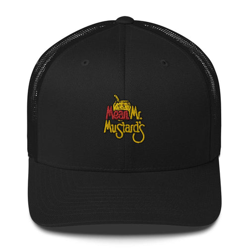 Mean Mr. Mustard's Trucker Cap Black