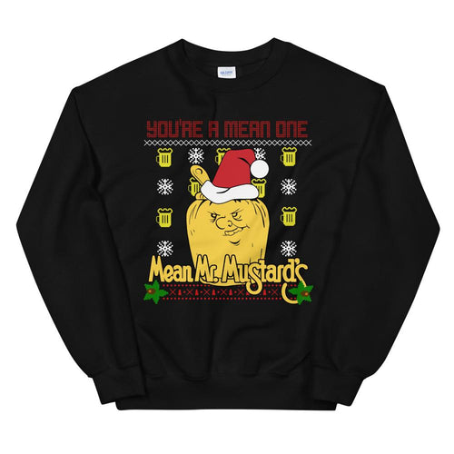 Mean Mr. Mustard's Ugly Christmas Sweater S