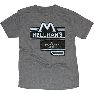 Mellman's Tavern Tri-Blend T-Shirt Apparel Medium Gray S