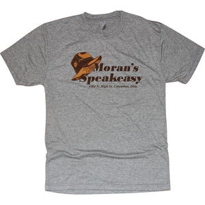 Moran's Speakeasy Heather Grey Shirt Apparel