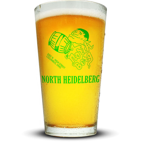 North Heidelberg Pint Glass Glassware