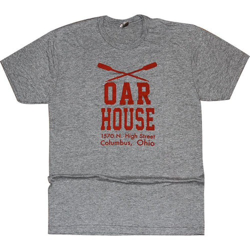 Oar House Tri-Blend T-Shirt Apparel Medium Gray S