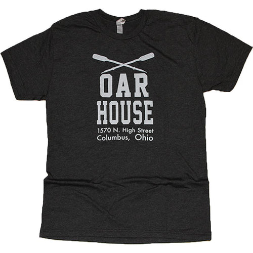Oar House Tri-Blend T-Shirt Apparel Vintage Black S