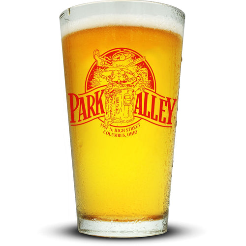 Park Alley Pint Glass Glassware